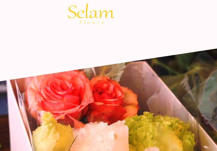 花言葉と共に想いを伝えるギフト フラワーボックス「Selam」